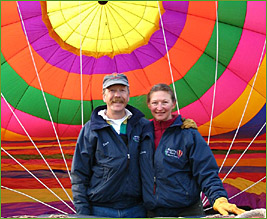 Morning Glory Balloon Tours | Kurt & Melinda Oakley